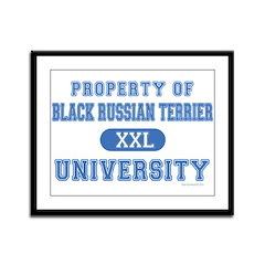 B.R.T. University Framed Panel Print