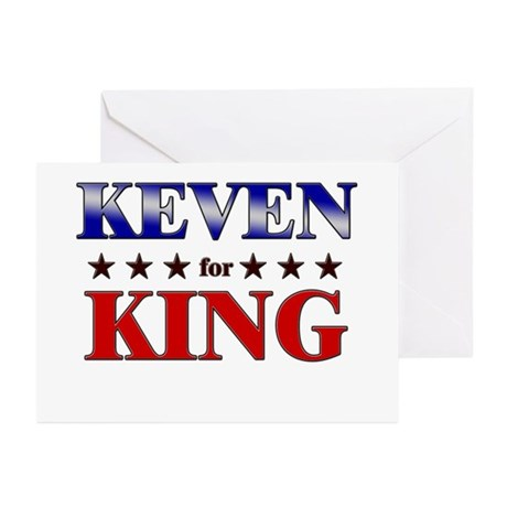 KEVEN for king Greeting Cards (Pk of 20)