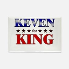 KEVEN for king Rectangle Magnet
