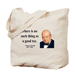 Winston Churchill 7 Tote Bag
