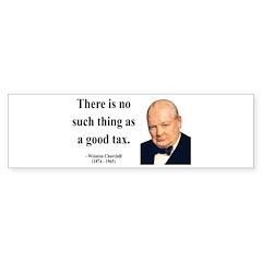 Winston Churchill 7 Bumper Sticker