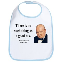 Winston Churchill 7 Bib