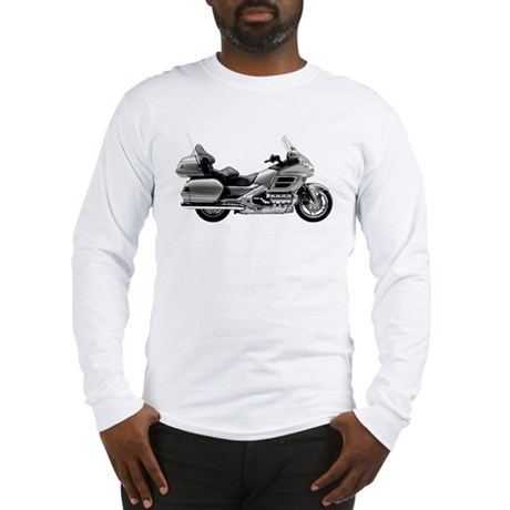 Honda Goldwing Gray Long Sleeve T-Shirt