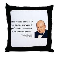 Winston Churchill 8 Throw Pillow