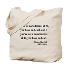 Winston Churchill 8 Tote Bag