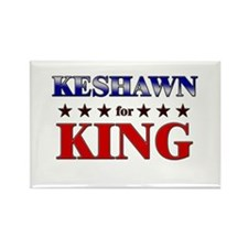 KESHAWN for king Rectangle Magnet