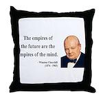 Winston Churchill 9 Throw Pillow