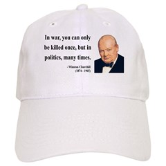 Winston Churchill 10 Cap