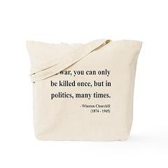 Winston Churchill 10 Tote Bag