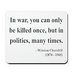 Winston Churchill 10 Mousepad