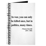Winston Churchill 10 Journal