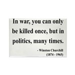 Winston Churchill 10 Rectangle Magnet (100 pack)