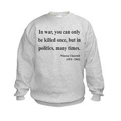 Winston Churchill 10 Sweatshirt