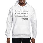 Winston Churchill 10 Hooded Sweatshirt