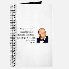 Winston Churchill 11 Journal