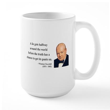 Winston Churchill 11 Large Mug