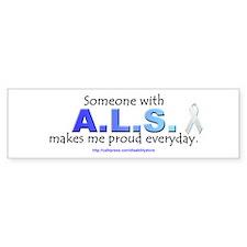"""ALS Pride"" Bumper Bumper Sticker"