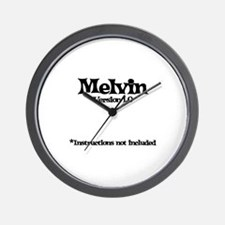 Melvin - Version 1.0 Wall Clock
