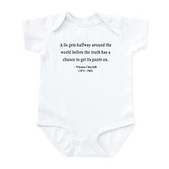 Winston Churchill 11 Infant Bodysuit