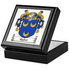 Ryder Family Crest Keepsake Box