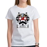 Saunders Family Crest Women's T-Shirt