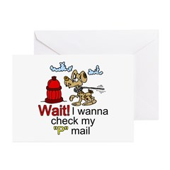 P mail Greeting Cards (Pk of 20)