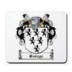 Savage Family Crest Mousepad