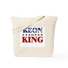 KEON for king Tote Bag