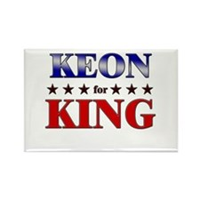 KEON for king Rectangle Magnet
