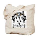 Savage Family Crest Tote Bag