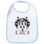 Savage Family Crest Bib