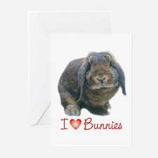 bunny lover Greeting Cards (Pk of 10)