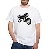 Triumph thruxton Mens White T-shirts