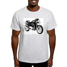 Triumph Thruxton Motorbike Black T-Shirt