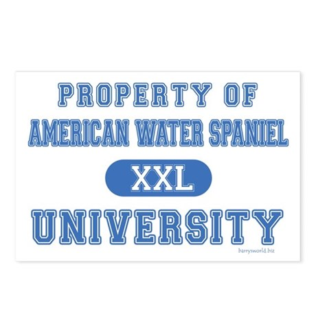 A.W.S. University Postcards (Package of 8)