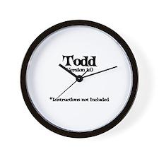 Todd - Version 1.0 Wall Clock