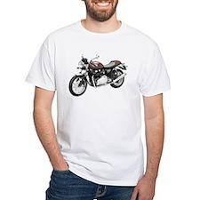 Triumph Thruxton Motorbike Red Shirt