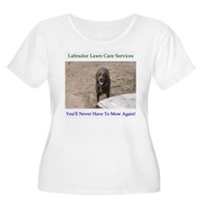 Lab Lawn Care T-Shirt