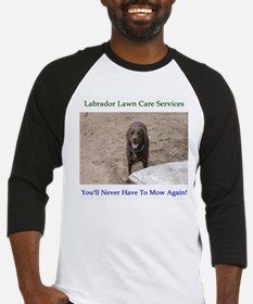 Lab Lawn Care Services Baseball Jersey