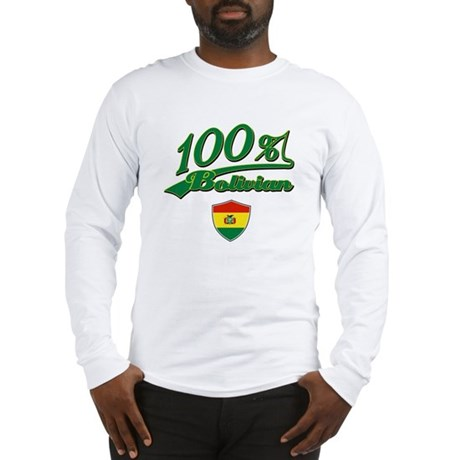 100% Bolivian Long Sleeve T-Shirt