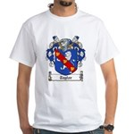 Taylor Family Crest White T-Shirt