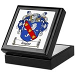 Taylor Family Crest Keepsake Box