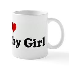 I Love My Rugby Girl Mug