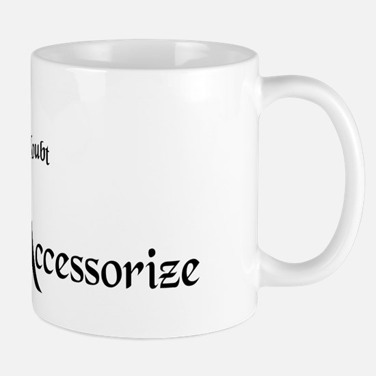 Fashion Accessorize Mug