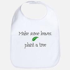 Make Some Leaves... Bib