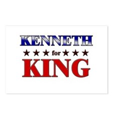 KENNETH for king Postcards (Package of 8)