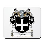 Upton Family Crest Mousepad