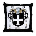 Upton Family Crest Throw Pillow