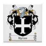 Upton Family Crest Tile Coaster