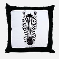 ZEBRA WOMAN Throw Pillow